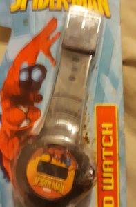 New Spiderman LCD Watch